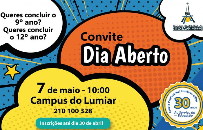 Open day_convite_alunos_lumiar 2019-01