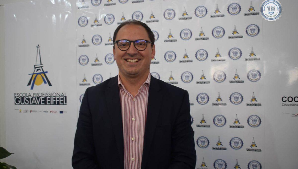 Presidente da Câmara Municipal de Arruda dos Vinhos, Dr. André Rijo